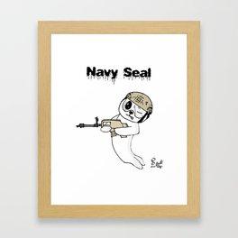 Navy Seal Framed Art Print