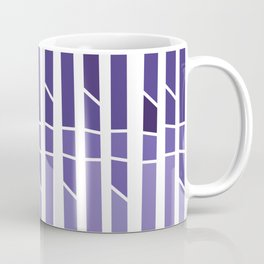 ultra violet geometric Coffee Mug