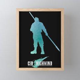 Cid FF Framed Mini Art Print