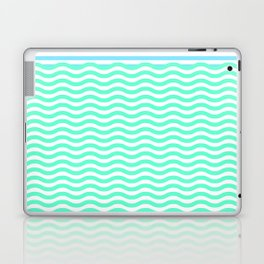 Coastline (Sunrise Blue) Laptop & iPad Skin