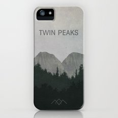 Twin Peaks iPhone SE Slim Case