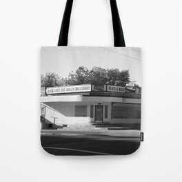 Black and White Grocery 1 Tote Bag