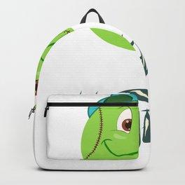 Tennis ball smiley Backpack
