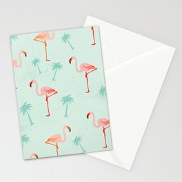 Vintage Flamingos Stationery Cards