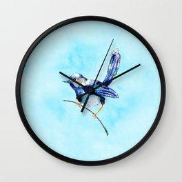 Splendid Wren Wall Clock