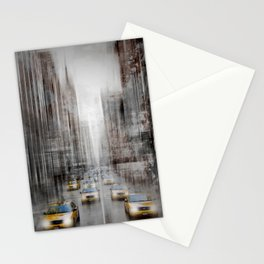 City-Art NYC 5th Avenue Traffic Stationery Cards