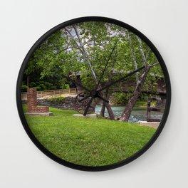 Lovework at the Humpback Bridge Wall Clock