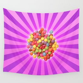 colourful smarties Wall Tapestry