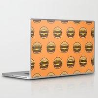 burger Laptop & iPad Skins featuring BURGER by KODYMASON