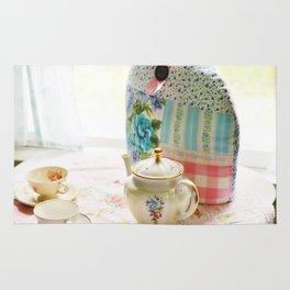 Vintage tea setting Rug
