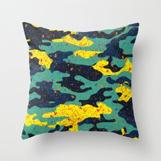 CAMOUFLAGE II Throw Pillow
