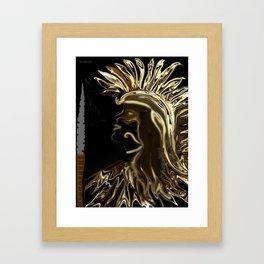 The Warrior Framed Art Print