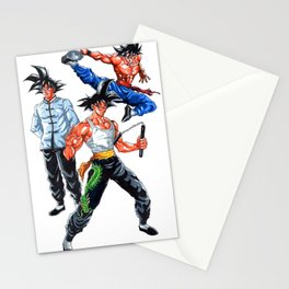 goku lee the last dragon Stationery Cards