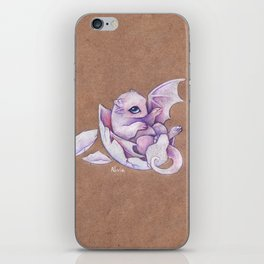 Little dragon hatchling iPhone Skin