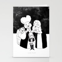 hocus pocus Stationery Cards featuring Hocus Pocus Nightmare by Claire Fauché