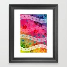 hawaii band Framed Art Print