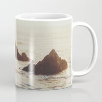 seal Mugs featuring Seal Point by Chelsea Victoria
