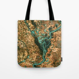Views of life from space Tote Bag