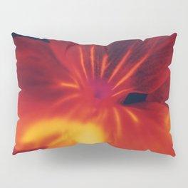 Red Flower Pillow Sham