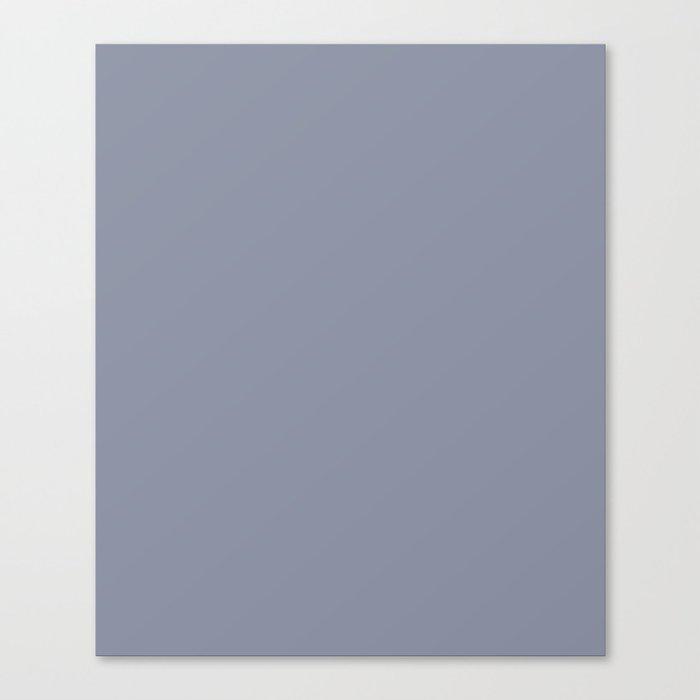 Grey-blue. Leinwanddruck
