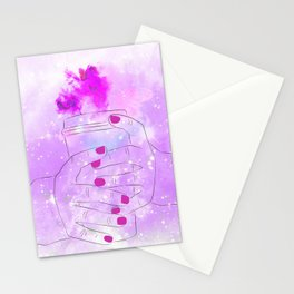 Purple In Mind Stationery Cards