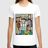 gta v T-shirts featuring Breaking Bad GTA HD  by Akyanyme