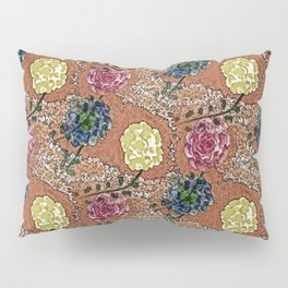Old Fashioned Roses Pillow Sham