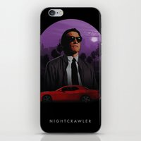 nightcrawler iPhone & iPod Skins featuring Nightcrawler by Ash Reynolds