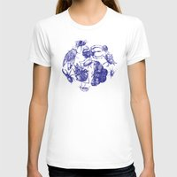 insect T-shirts featuring Insect Toile by Cori Redford