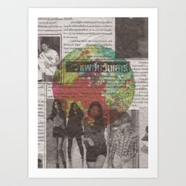 Thai 3 Art Print