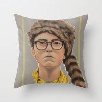 moonrise kingdom Throw Pillows featuring Moonrise Kingdom by Soren Barton