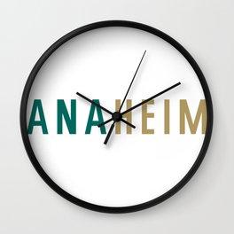 ANAHEIM Wall Clock