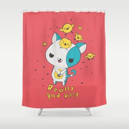 Really Good Kitty Shower Curtain