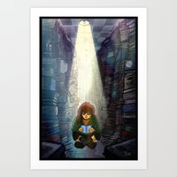 The Place To Be Alone Art Print
