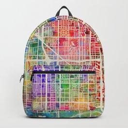 Phoenix Arizona City Map Backpack