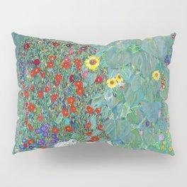 Gustav Klimt - Poppy Field 1907 (new color rendition) Pillow Sham