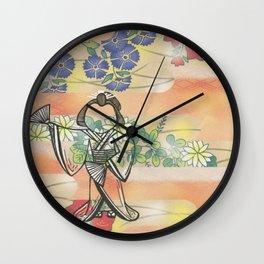 The Fourth Beautiful Geisha Wall Clock