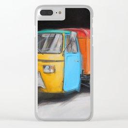 Ape 01 Clear iPhone Case