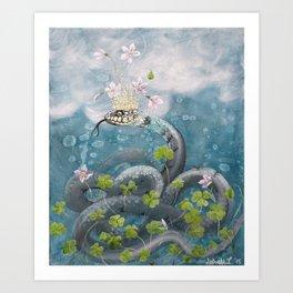 Natrix Oxalis Art Print