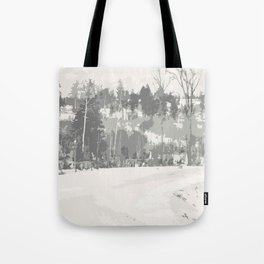 Once upon a time -winter Tote Bag