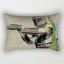 Starwars Boba Fett Rectangular Pillow