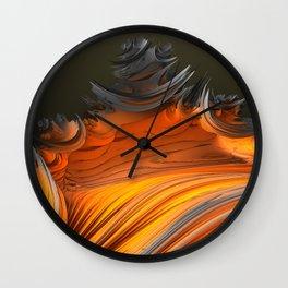 Still Burning Wall Clock