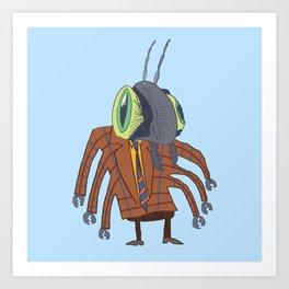 Biz Bug Art Print