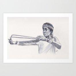 Sling Art Print