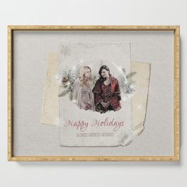 OUAT HAPPY HOLIDAYS // Swan Queen Serving Tray