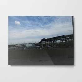 New Jersey Turnpike 3 Metal Print