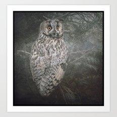 The Watcher In The Mist Art Print