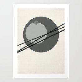 Juxtapose III Art Print