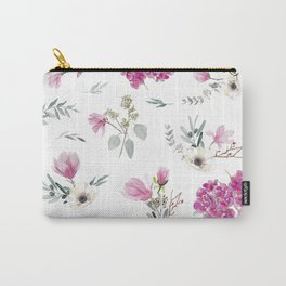 Pink pattern Carry-All Pouch