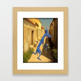 El Chupacabra Framed Art Print